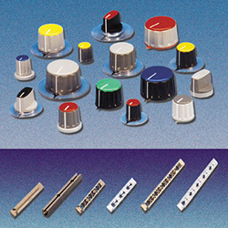 COLLET KNOBS & PCB CARD GUIDES
