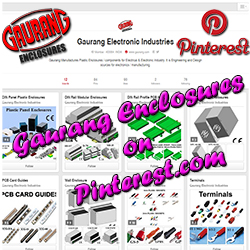 """""""Pin It"""" Our Enclosures for your Engineering / Design source - Gaurang Enclosures on pinterest.com"""