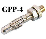 GPP-4 -- 4mm Plugs