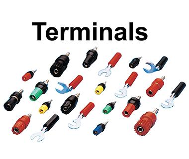 Terminals Spade & Binding Post