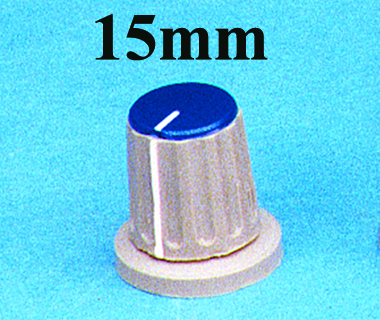 15mm ROUND COLLET KNOBS