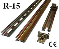 R-15 -- 15x5mm Din Rail